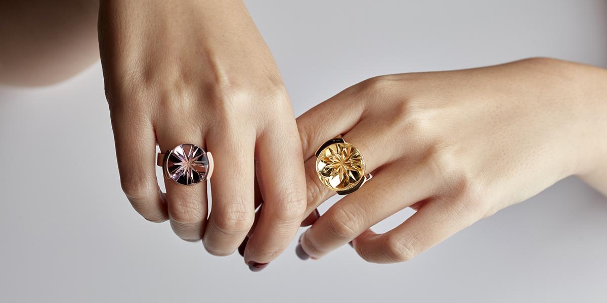 citrine ring gold, jewellery Rembrandt Jordan
