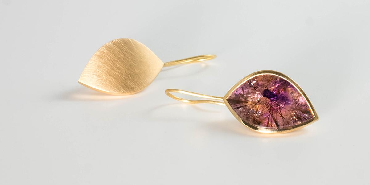 ametrine earrings gold, Rembrandt Jordan_ZW