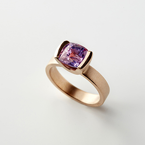 Ring Pink Sapphire